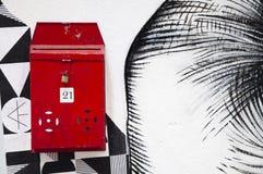 Rode brievenbus, Hong Kong Royalty-vrije Stock Afbeeldingen