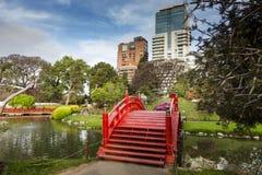Rode brug Stock Afbeeldingen