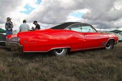 Rode Buick-Wilde staking royalty-vrije stock afbeelding