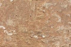 Rode Cementmuur Stock Afbeeldingen