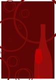 Rode champagne Royalty-vrije Stock Foto