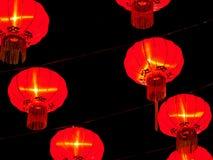 Rode Chinese lantaarn stock afbeelding