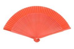 Rode Chinese Ventilator Royalty-vrije Stock Afbeeldingen