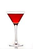 Rode cocktail stock fotografie