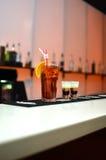Rode cocktails Stock Afbeeldingen