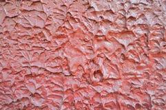 Rode concrete muurtextuur stock foto's