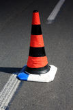 Rode cone Stock Image
