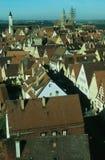 Rode daken Stock Afbeelding