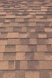 Rode dakspanen (achtergrond) Stock Foto's