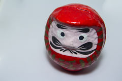 Rode darumapop Royalty-vrije Stock Afbeeldingen