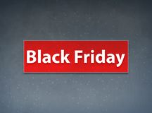 Rode de Banner Abstracte Achtergrond van Black Friday vector illustratie