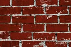 Rode de muurtextuur van bakstenenstenen Stock Foto's