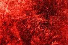 Rode de muurtextuur van Grunge Stock Afbeelding