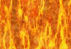 Rode de textuurachtergronden van de vlambrand Royalty-vrije Stock Afbeelding