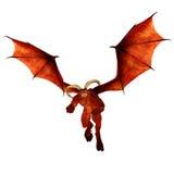 Rode Demon stock illustratie