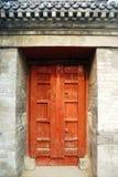 Rode deur Stock Afbeeldingen