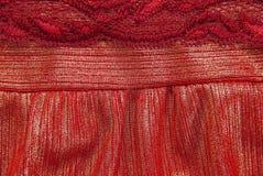 Rode doek Stock Afbeeldingen