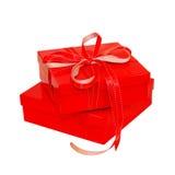 Rode doos Stock Afbeeldingen
