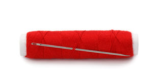 Rode draad royalty-vrije stock foto's