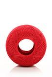 Rode draad stock afbeelding