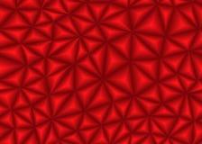 Rode driehoeks abstracte achtergrond Stock Fotografie