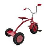 Rode driewieler stock illustratie