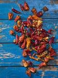 Rode droge peper royalty-vrije stock afbeelding
