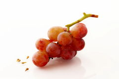 Rode druif Royalty-vrije Stock Afbeelding