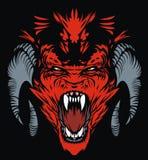 Rode duivel royalty-vrije illustratie