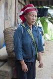 Rode Dzao-Etnische minderheid Royalty-vrije Stock Foto