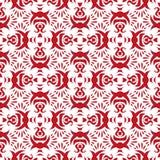 Rode eenvoudige Arabische naadloze achtergrond Royalty-vrije Stock Fotografie