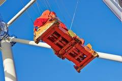Rode en blauwe Kolos Stock Foto's
