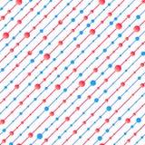 Rode en blauwe textuur Stock Foto's