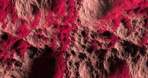 Rode en bruine abstracte textuur 3d illustratie Stock Fotografie