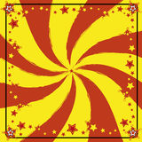 Rode en gele achtergrond Stock Foto