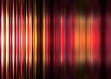 Rode en gele gestreepte achtergrond Royalty-vrije Stock Afbeelding