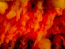 Rode en gele rook abstracte achtergrond stock afbeelding