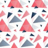 Rode en grijze driehoeken Royalty-vrije Stock Fotografie