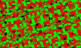 Rode en groene achtergrond royalty-vrije stock afbeelding