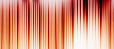 Rode en oranje strepen Royalty-vrije Stock Fotografie