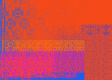 Rode en purpere achtergrond Royalty-vrije Stock Fotografie