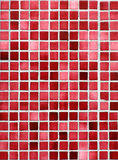 Rode en roze tegels. Stock Afbeeldingen