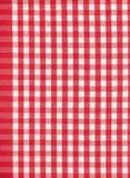 Rode en witte controle Royalty-vrije Stock Afbeeldingen