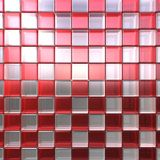 Rode en witte kubussen Royalty-vrije Stock Afbeeldingen