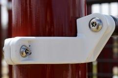Rode en witte structuur Royalty-vrije Stock Foto's