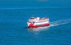 Rode en Witte Vloot royalty-vrije stock afbeelding