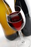 Rode en witte wijnen Stock Afbeeldingen