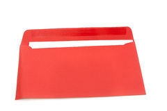Rode envelop Stock Foto