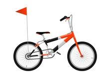 Rode fiets stock illustratie