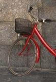 Rode fiets Royalty-vrije Stock Foto's